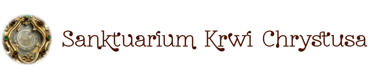 Sanktuarium Krwi Chrystusa w Częstochowie logo