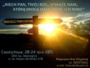 Rekolekcje dla rozeznania powołania @ Sanktuarium Krwi Chrystusa | Częstochowa | śląskie | Polska
